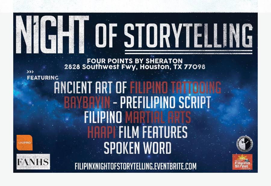 FilipinX Night of Storytelling